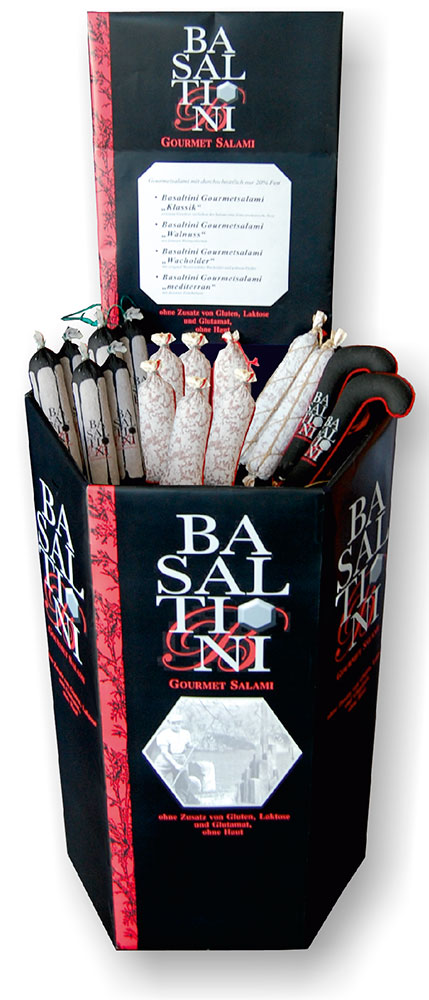Basaltini-Display
